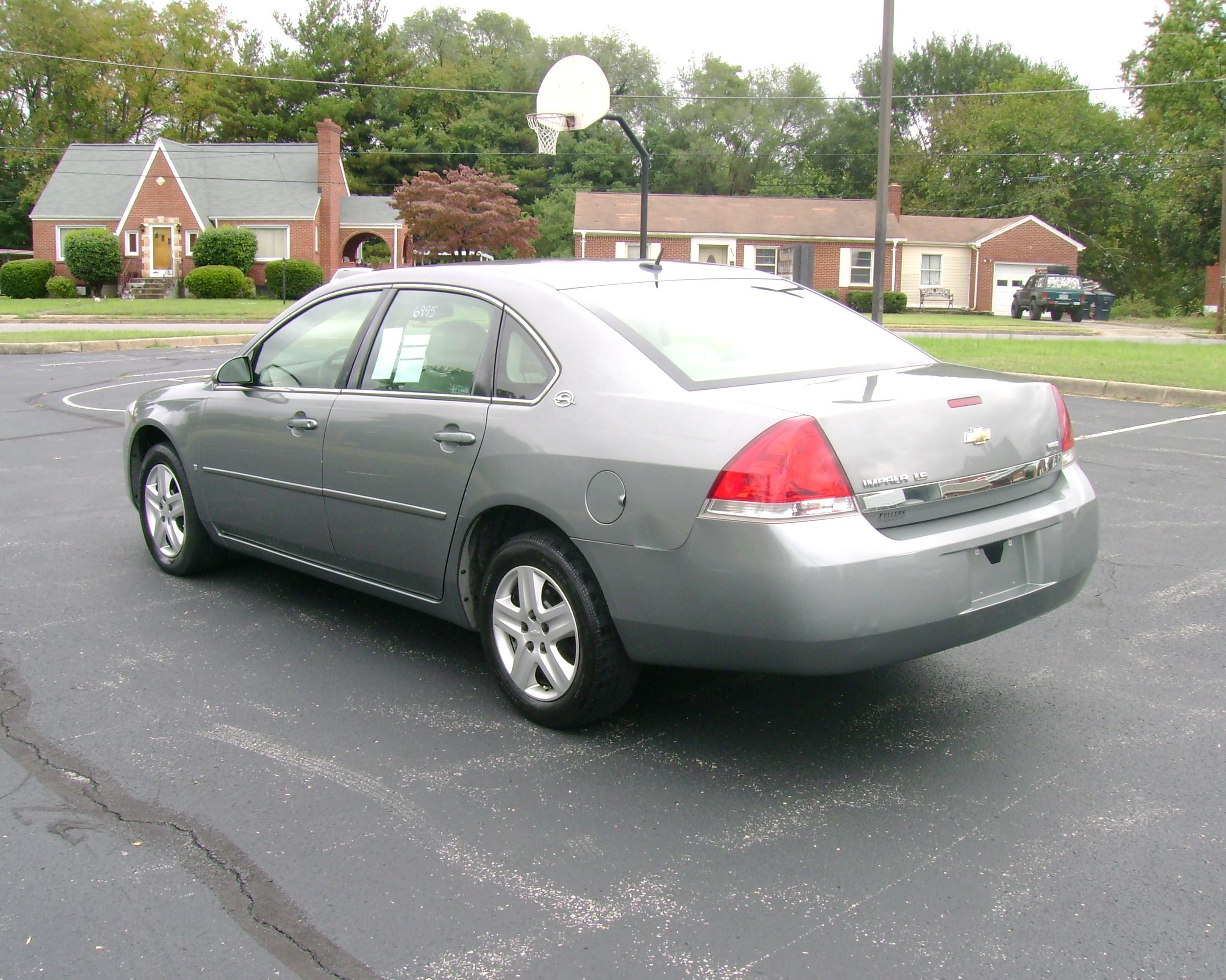 2007 Chevrolet Impala Ls 007 2007 Chevrolet Impala Ls 007 Automobile Exchange