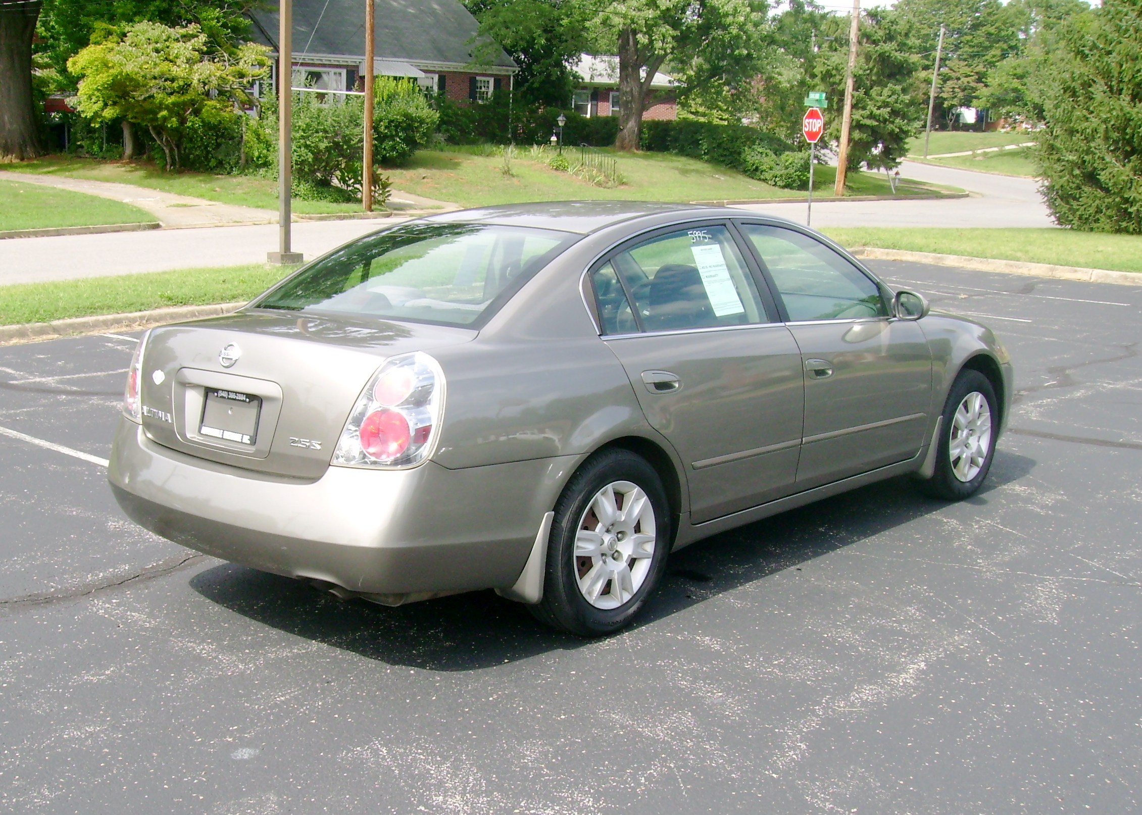 Perfect 2005 Nissan Altima 2.5S 005