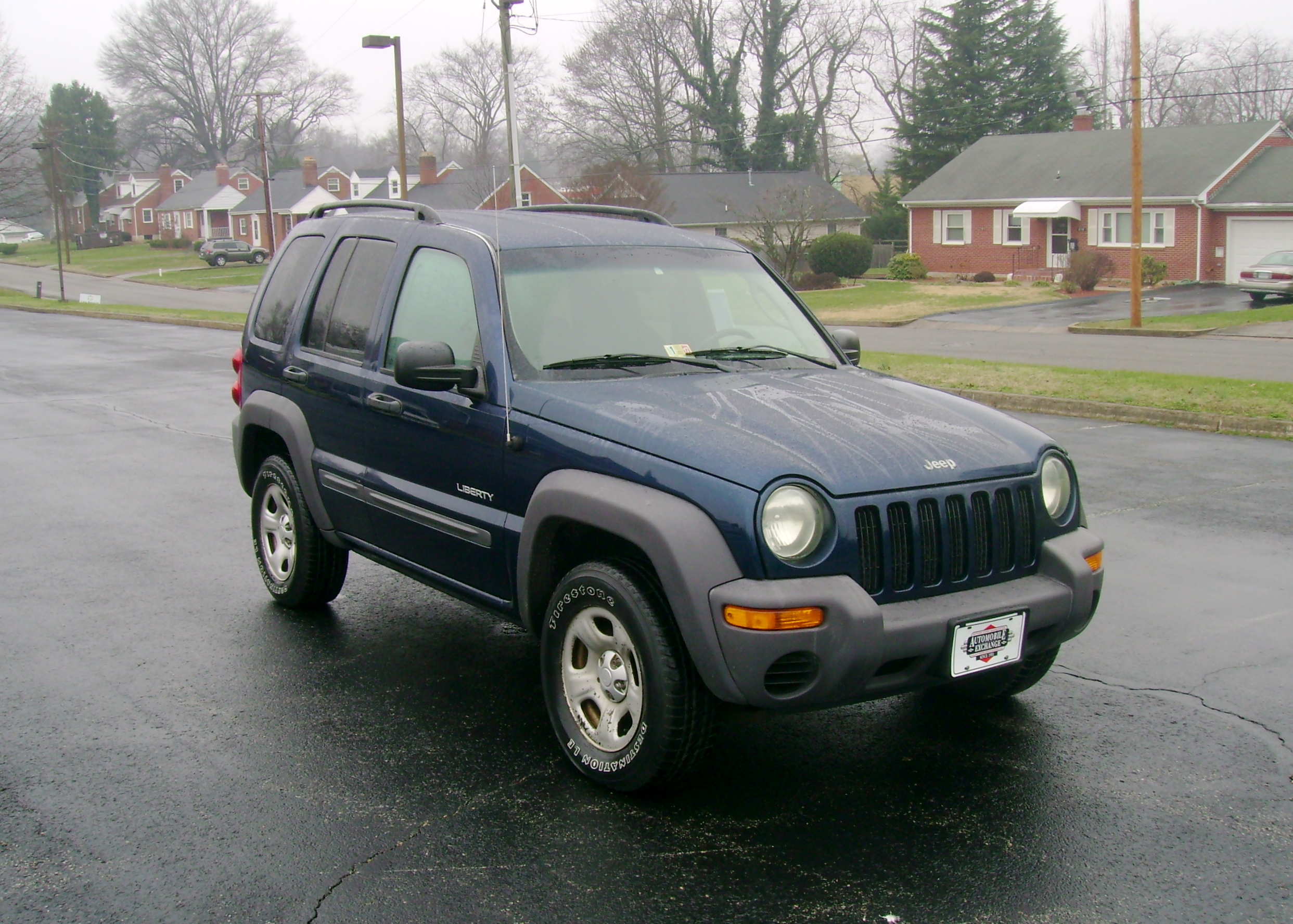 2004 jeep liberty tire size